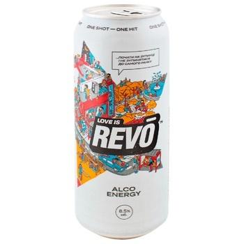 Напиток слабоалкогольный энергетический Revo Лимитированное версия 8,5% 0,5л