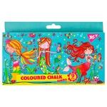 Мел Jumbo Rachel Mermaid цветной 9шт