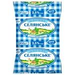 Selianske Ultrapasteurized Milk 2.5% 450g