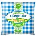 Selyanska Sour Сream 10% 400г