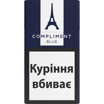 Цигарки Compliment demi blue slim - купити, ціни на Ашан - фото 1