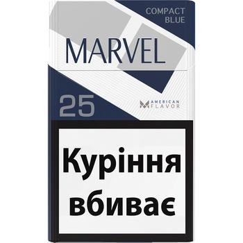 Цигарки Marvel Compact 25 Blue Demi - buy, prices for Metro - photo 1