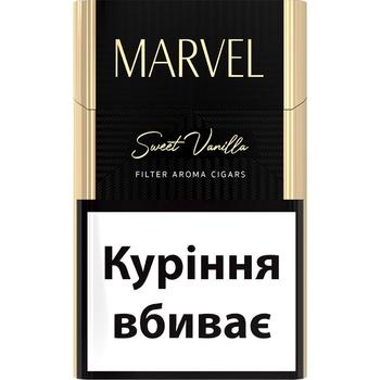 Сигариллы Marvel Sweet Vanilla - купить, цены на ЕКО Маркет - фото 1