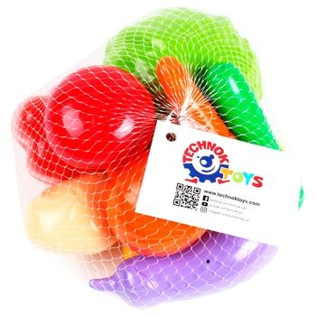 Technok Vegetables Toy set 9 elements - buy, prices for CityMarket - photo 1