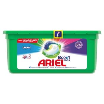 Ariel Color Automaton Gel-Capsules 27pcs - buy, prices for CityMarket - photo 1