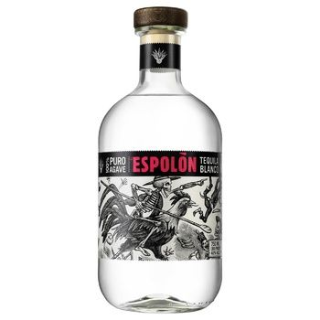 Текіла 100% Puro Agave Espolon Reposado 40% 0,75л - купити, ціни на Ашан - фото 1