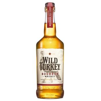 Виски Wild Turkey Бурбон 81 40,5% 1л