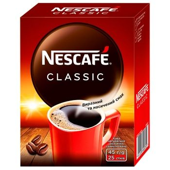 NESCAFÉ® Classic instant coffee stick 25*1,8g