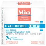 Крем-гель Mixa увлажняющий для нормальной обезвоженной чувствительной кожи 50мл