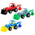 Іграшка Полесье ЗдорованьТрактор-екскаватор в ассортименті