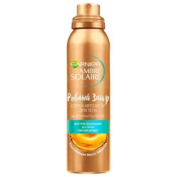 Garnier Ambre Solaire Auto-tanning spray 150ml - buy, prices for Auchan - photo 1