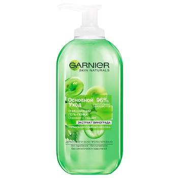 Гель для умывания Garnier Skin Naturals Основной уход для нормальной кожи 200мл