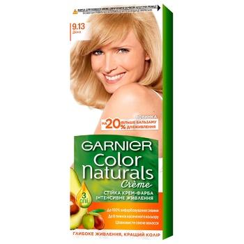 Краска для волос Garnier Color Naturals Cream Интенсивное питание 9.13 дюна