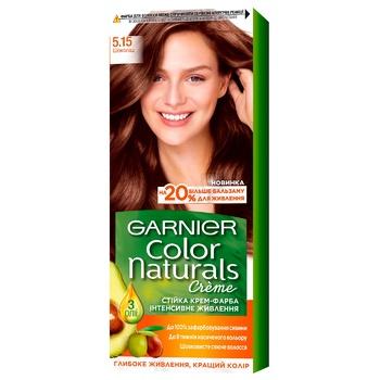 Краска для волос Garnier Color Naturals Creme с 3-мя маслами №5.15 Шоколад
