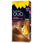 Garnier Olia 8.13 Sand Light Blond Ammonia-Free Crea-Dye 112ml