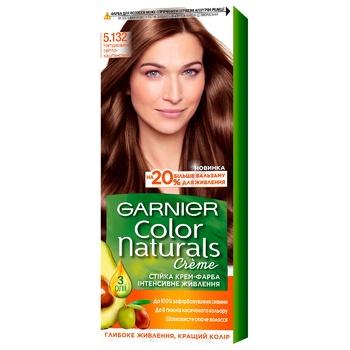 Garnier Color Naturals Creme 5.132 Medium Brown Hair Color - buy, prices for CityMarket - photo 1