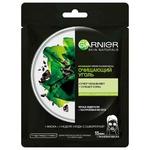 Маска Garnier Skin Naturals Очисне Вугілля та водорості 28г