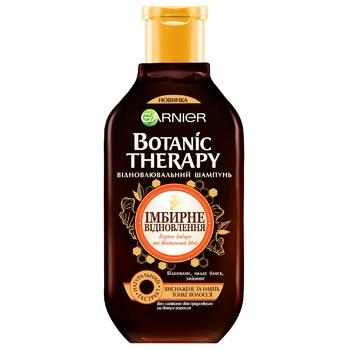 Шампунь Garnier Botanic Therapy Имбирное Восстановление для истощенных и тонких волос 250мл