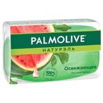 Мыло Palmolive Натурэль Освежающее Летний Арбуз туалетное глицериновое 90г