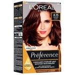 Фарба для волосся L'Oreal Paris Recital Preference 4.15 Каракас Темний каштан