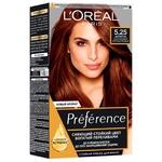 Фарба для волосся L'Oreal Paris Recital Preference 5.25 Антигуа каштановий перламутровий