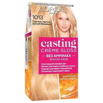 Краска-уход для волос L'Oreal Paris Casting Creme Gloss 1013 Светло-светло-русый бежевый без аммиака