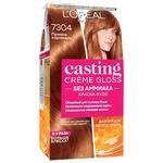 Краска-уход для волос L'Oreal Paris Casting Creme Gloss 7304 Пряная карамель без аммиака