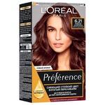 Фарба для волосся L'Oreal Paris Recital Preference 6.21 Ріволі перламутровий світло-каштановий