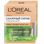 Скраб L'Oreal Paris цукровий для глибокого очищення шкіри 50мл
