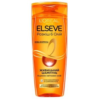 L'Oreal Paris Elseve 6 Oils For Hair Shampoo - buy, prices for CityMarket - photo 1