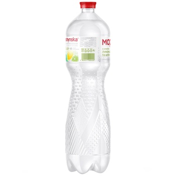 Morshynska Lemon, Lime and Mint Flavored Highly Carbonated Drink 1,5l - buy, prices for CityMarket - photo 4