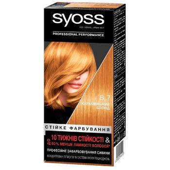 SYOSS №8-7 Hair Dye Caramel Blond - buy, prices for CityMarket - photo 1