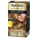 SYOSS Oleo Intense 7-10 Natural Light Brown Ammonia Free Hair Dye 115ml