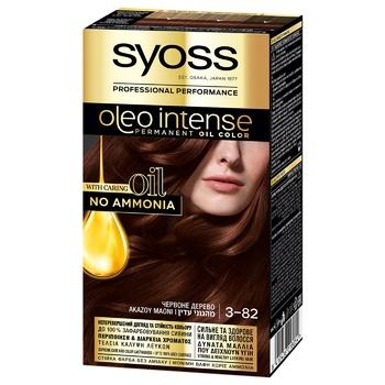 SYOSS Oleo Intense 3-82 Red Wood Ammonia Free Hair Due 115ml - buy, prices for Novus - photo 1