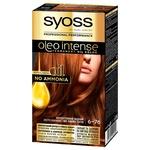 SYOSS Oleo Intense 6-76 Shimmering Copper Ammonia Free Hair Dye 115ml
