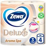 Туалетная бумага Zewa Deluxe Aroma Spa 3х слойная 4шт