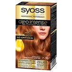 Крем-краска для волос Syoss Oleo Intense 7-70 Золотое Манго без аммиака