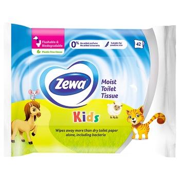 Zewa Kids wet toilet paper 42pcs - buy, prices for CityMarket - photo 1
