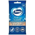 Zewa Wet Wipes Fresh Classic 10pcs