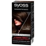 Краска для волос Syoss 3-1 Темно-каштановый