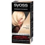 Стійка фарба для волосся Syoss 9-5 Перлинний блонд 115мл