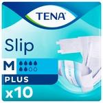 Tena Slip Plus Medium Adult Diapers 10pcs