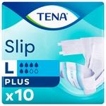 Tena Slip Plus Large Adult Diapers 10pcs