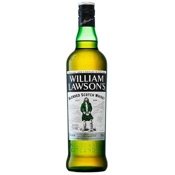 William Lawson's Blended Scotch Whisky 40% 0,7l - buy, prices for CityMarket - photo 1