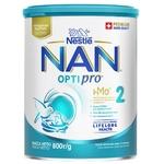 Смесь молочная Nestle Nan 2 Optipro сухая от 6 месяцев 800г