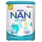 Суха молочна суміш Nestle Nan 4 Optipro з олігосахаридом 2'FL від 18 місяців 800г