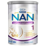 Dry milk formula Nestle Nan 1 hypoallergenic for babies from birth 400g