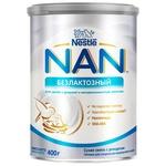 Смесь сухая детская Nestle Nan Безлактозный с рождения 400г