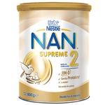 Nestle Nan Supreme 2 for children from birth dry milk blend 800g