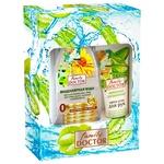 Подарочный набор Family Doctor №1 Мицеллярная вода для всех типов кожи 265мл + Крем для рук Активное увлажнение 75мл